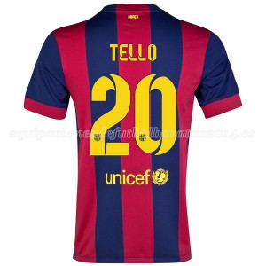 Camiseta del Tello Barcelona Primera 2014/2015