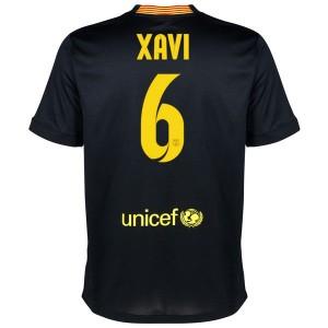Camiseta nueva del Barcelona 2013/2014 Equipacion Xavi Tercera