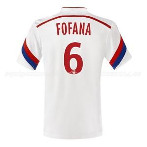Camiseta nueva Lyon Fofana Primera 2014/2015