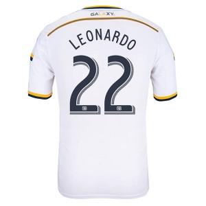 Camiseta nueva Los Angeles Galaxy Leonardo Primera 13/14