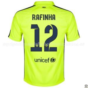 Camiseta del Rafinha Barcelona Tercera 2014/2015
