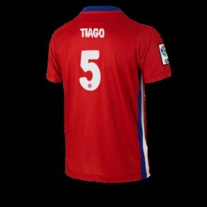 Camiseta Atletico Madrid TIAGO Primera Equipacion 2015/2016