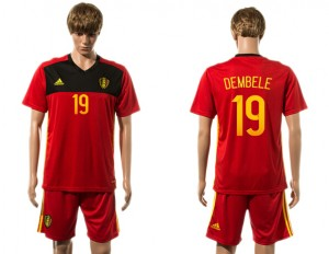 Camiseta del 19# Belgium 2015-2016
