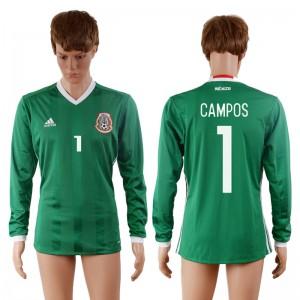 Camiseta Mexico 1# 2016-2017