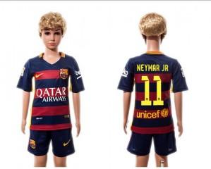 Camiseta nueva Barcelona Ni?os #11 Home 2015/2016