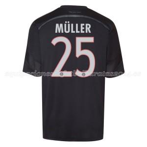Camiseta nueva del Bayern Munich 2014/2015 Equipacion Muller Tercera
