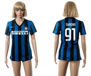 Camiseta nueva del Inter Milan 2015/2016 91 Mujer