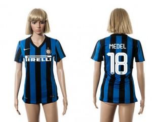 Camiseta de Inter Milan 2015/2016 18 Mujer
