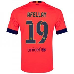 Camiseta del AFELLAY Barcelona Segunda Equipacion 2014/2015