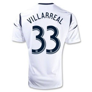 Camiseta Los Angeles Galaxy Villarreal Primera 2013/2014