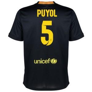 Camiseta de Barcelona 2013/2014 Tercera Puyol Equipacion