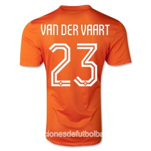 Camiseta del Van Der Vaart Holanda Primera WC2014