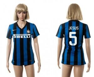Camiseta Inter Milan 5 2015/2016 Mujer