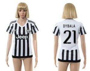 Camiseta Juventus 21 2015/2016 Mujer