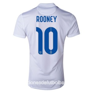 Camiseta Inglaterra de la Seleccion Rooney Primera WC2014