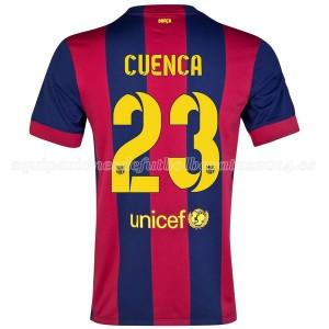Camiseta nueva del Barcelona 2014/2015 Cuenca Primera