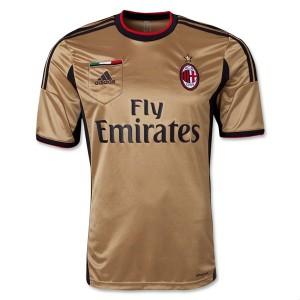 Camiseta AC Milan Tercera Tailandia 2013/2014