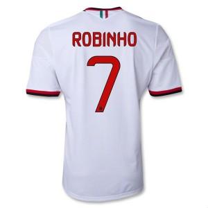 Camiseta nueva del AC Milan 2013/2014 Equipacion Robinho Segunda