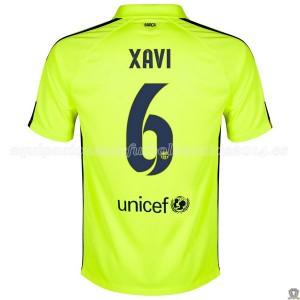 Camiseta del Xavi Barcelona Tercera 2014/2015