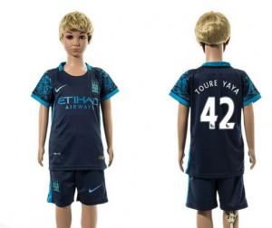 Camiseta nueva del Manchester City 2015/2016 42 Ni?os