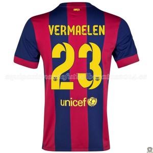 Camiseta del Vermaelen Barcelona Primera 2014/2015