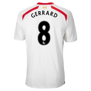 Camiseta Inglaterra de la Seleccion Gerrard Segunda 2013/2014