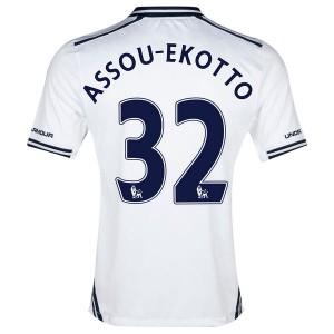 Camiseta Tottenham Hotspur Assou Ekotto Primera 2013/2014