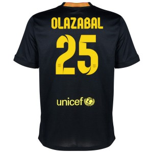 Camiseta nueva Barcelona Olazabal Equipacion Tercera 2013/2014
