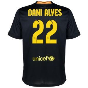 Camiseta de Barcelona 2013/2014 Tercera Dani Alves Equipacion