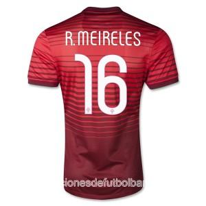 Camiseta de Portugal de la Seleccion 2013/2014 Primera R.Meireles