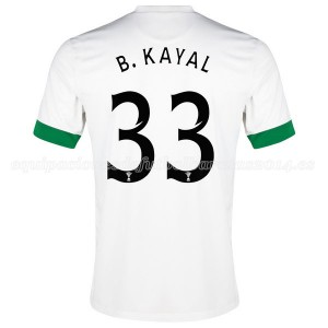 Camiseta de Celtic 2014/2015 Tercera B.Kayal Equipacion