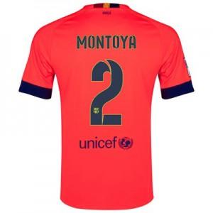 Camiseta Barcelona MONTOYA Segunda Equipacion 2014/2015