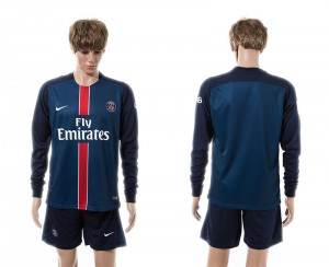 Camiseta Paris Saint Germain Primera Manga Larga 15/16