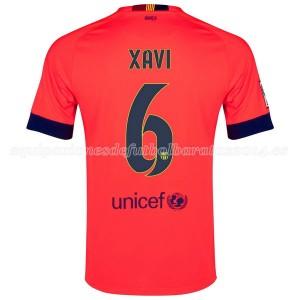Camiseta del Xavi Barcelona Segunda 2014/2015
