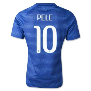 Camiseta del Pele Brasil de la Seleccion Segunda WC2014