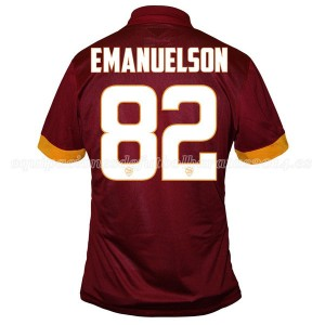 Camiseta de AS Roma 2014/2015 Primera Emanuelson Equipacion