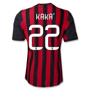 Camiseta AC Milan Kaka Primera Equipacion 2013/2014