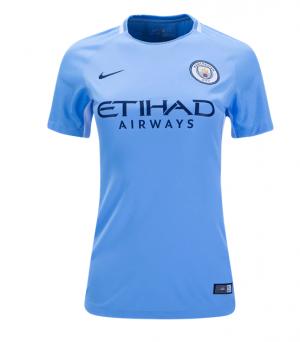 Camiseta de Manchester City 2017/2018 Primera Equipacion Mujer