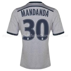 Camiseta nueva del Marseille 2014/2015 Mandanda Segunda