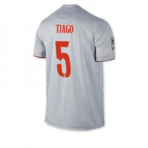 Camiseta de Atletico Madrid 2014/2015 Segunda TIAGO Equipacion