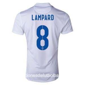 Camiseta nueva Inglaterra de la Seleccion Lampard Primera WC2014