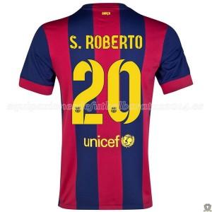 Camiseta nueva del Barcelona 2014/2015 S.Roberto Primera