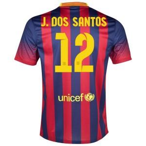 Camiseta del J.Dos Santos Barcelona Primera 2013/2014
