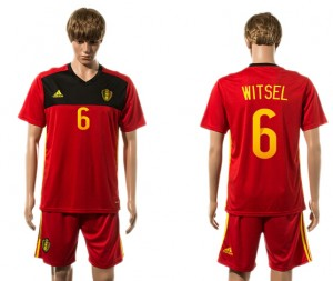 Camiseta del 6# Belgium 2015-2016