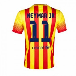Camiseta de Barcelona 2013/2014 Segunda Neymar JR Equipacion