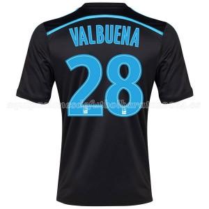 Camiseta nueva Marseille Valbuena Tercera 2014/2015