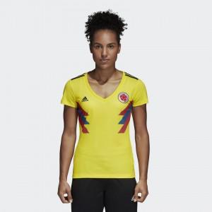 Camiseta de COLOMBIA 2018 Home Mujer