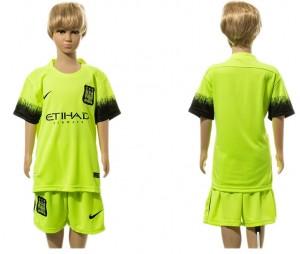 Camiseta Manchester City Away 2015/2016 Ni?os