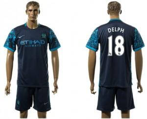 Camiseta de Manchester City Away 18#