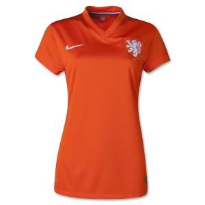 Camiseta de Holanda de la Seleccion 2014 Primera